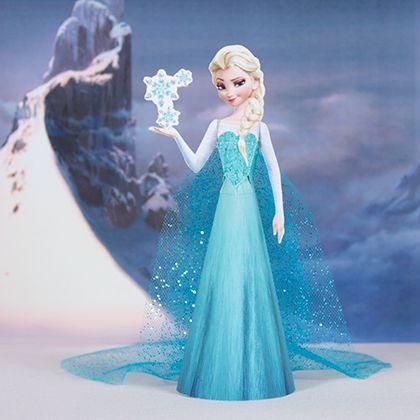 9 Images of Elsa Free Printable Crafts