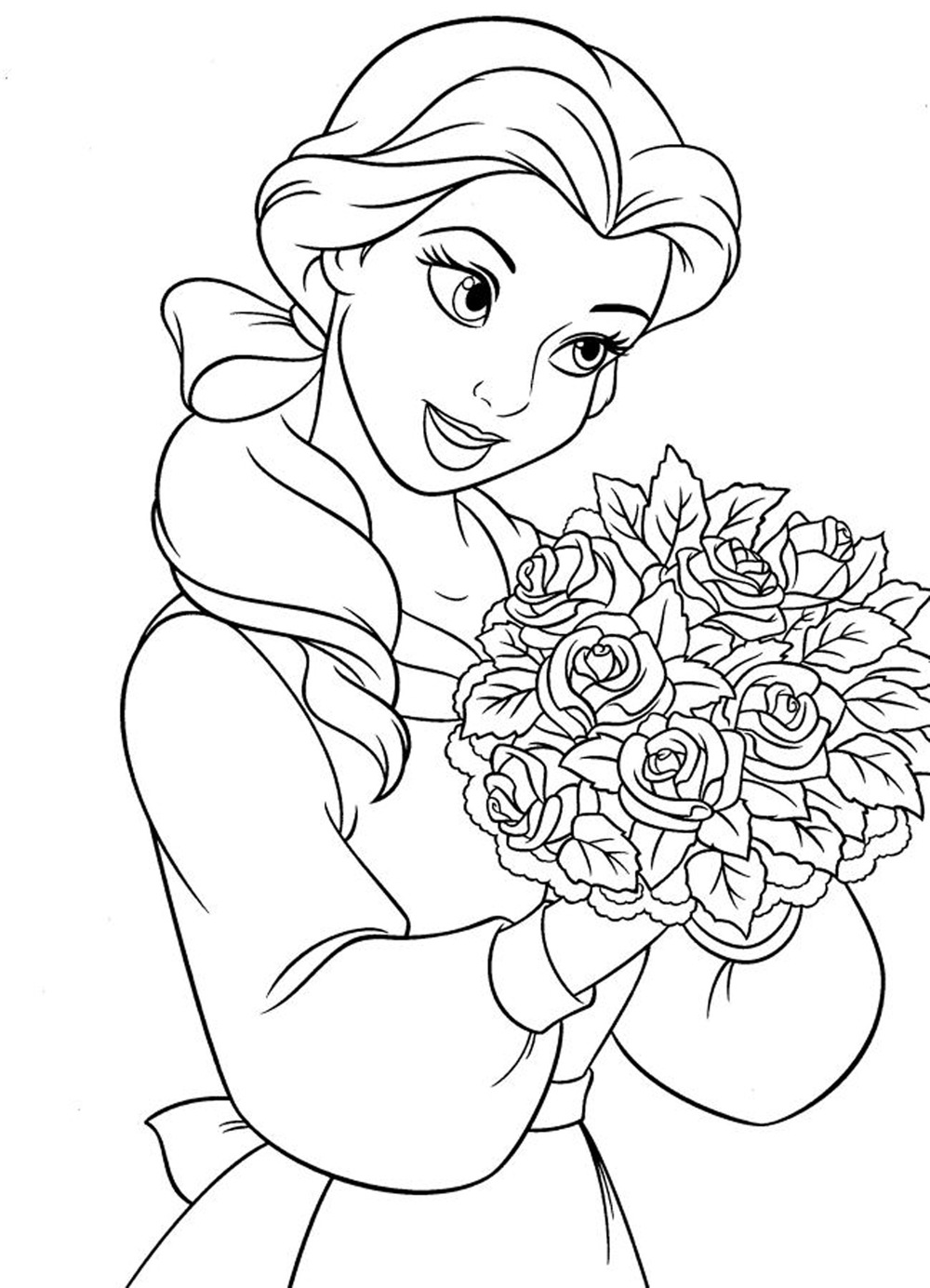 4 Images of Printable Disney Coloring Pages