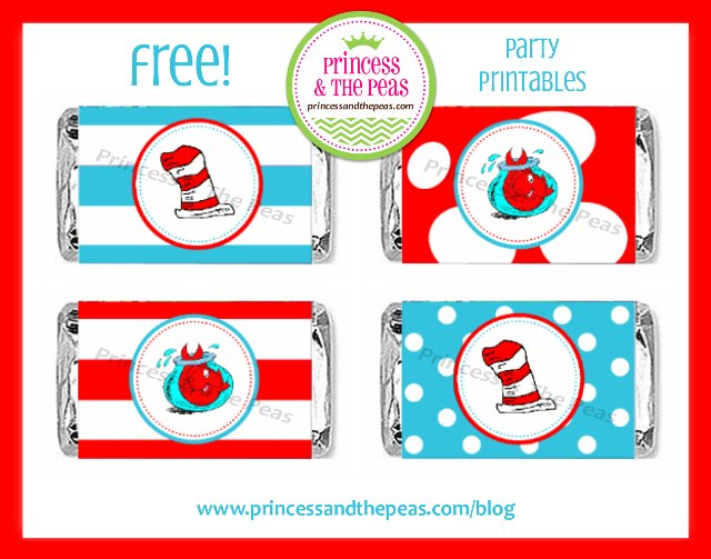 7 Images of Dr. Seuss Birthday Printables Free
