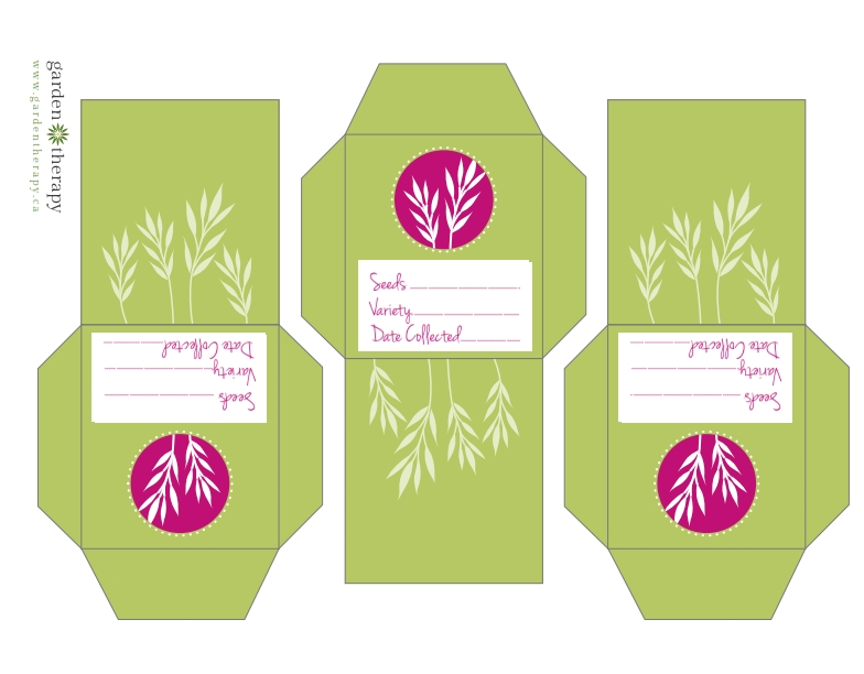 6 Best Images of Free Printable Seed PacketsPrintable Seed
