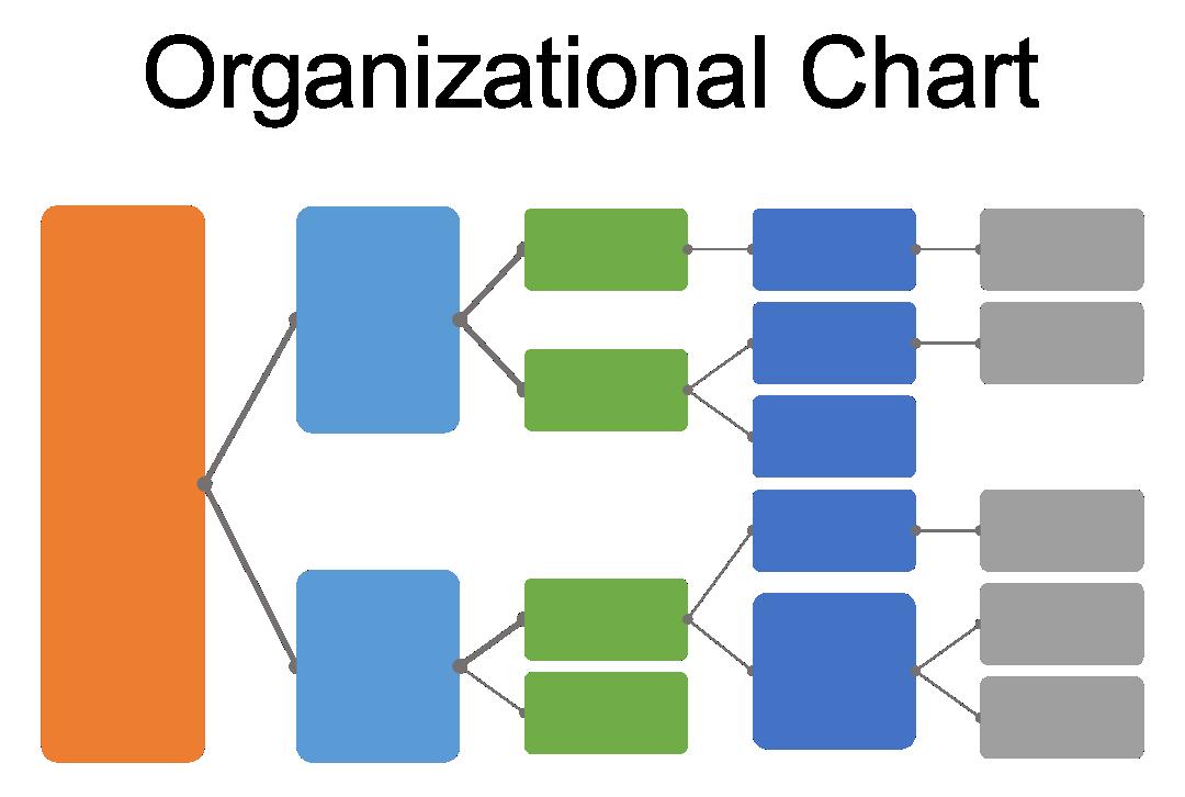 Blank Organizational Chart Template