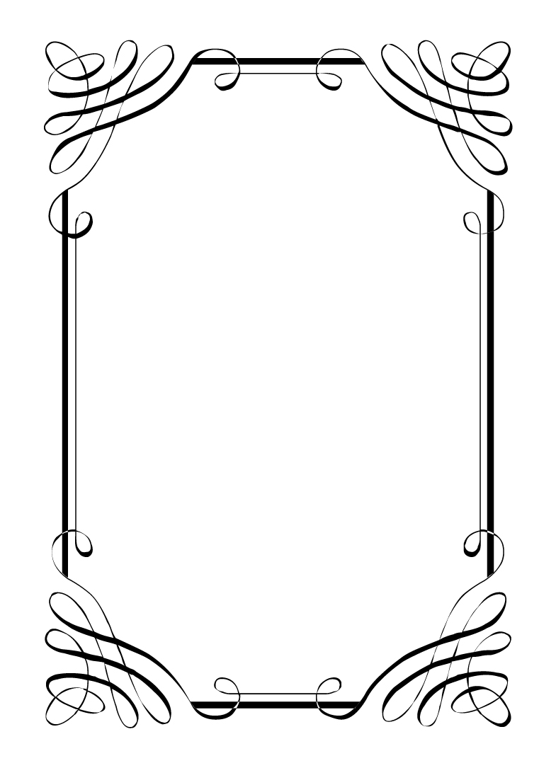 4 Images of Free Printable Borders And Frames Clip Art