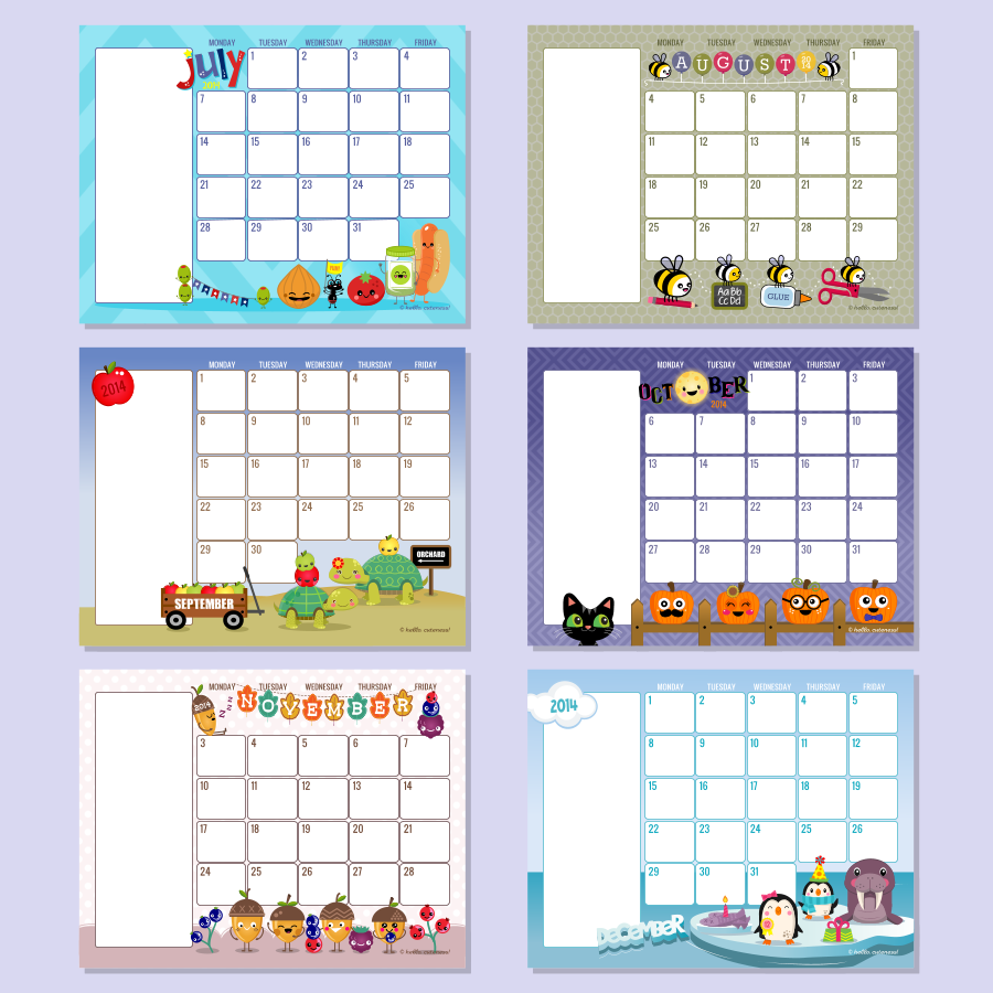 Printable Preschool Calendars 2016 - Preschool January 2016 Calendar ...