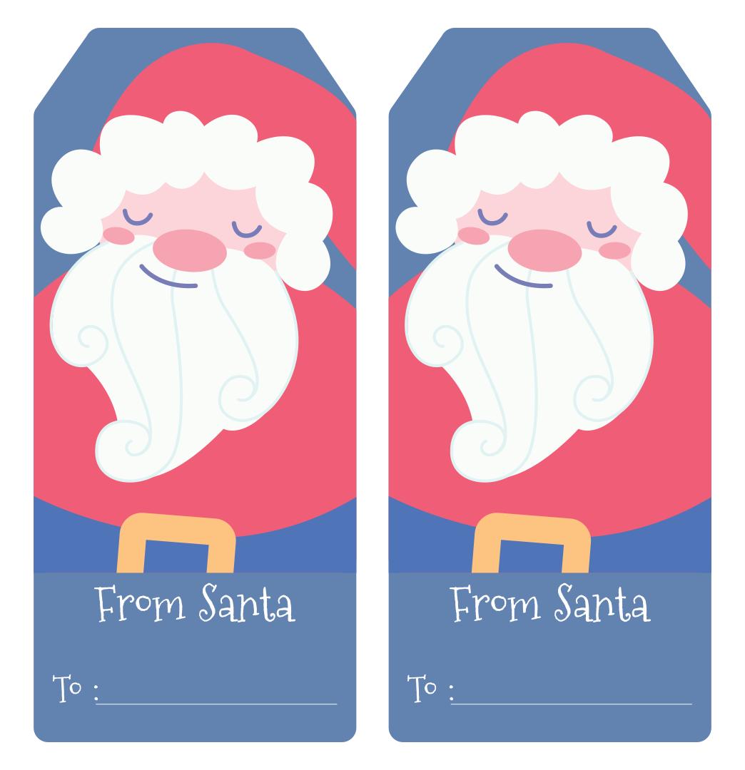 Gift Tags From Santa