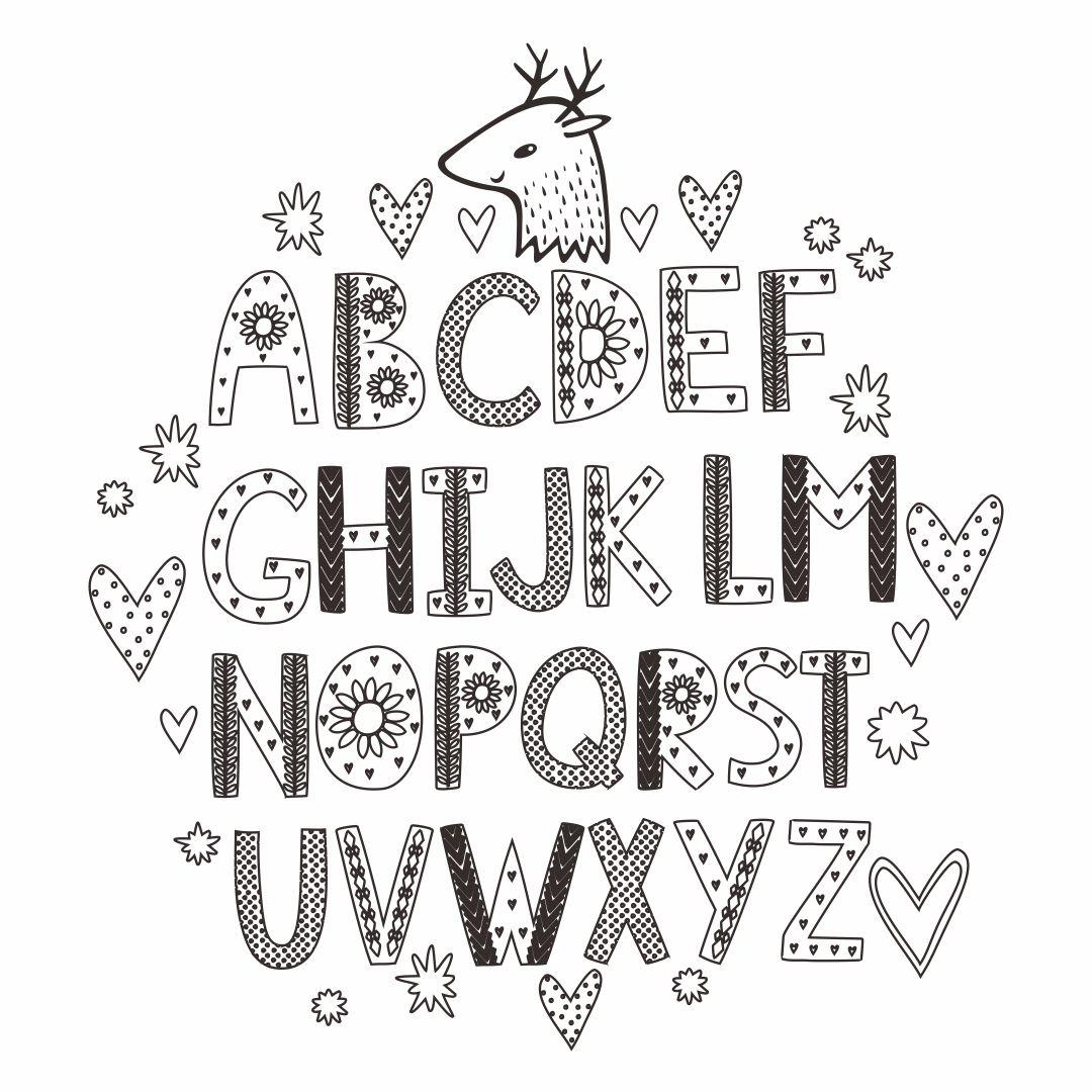 Printable Alphabet Letter Chart