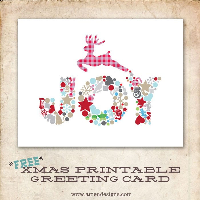 4 Images of Free Printable Religious Christmas Cards