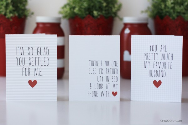 Free Printable Funny Valentine's Day Cards