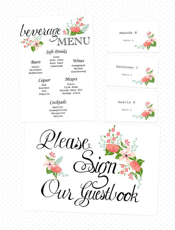 Free Printable Wedding Card Table Sign