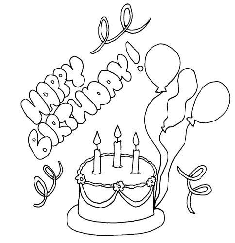 4 Images of Cars Coloring Pages Printable Happy Birthday Card