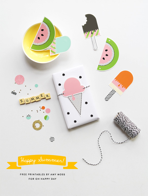 8 Images of Happy Summer Printables