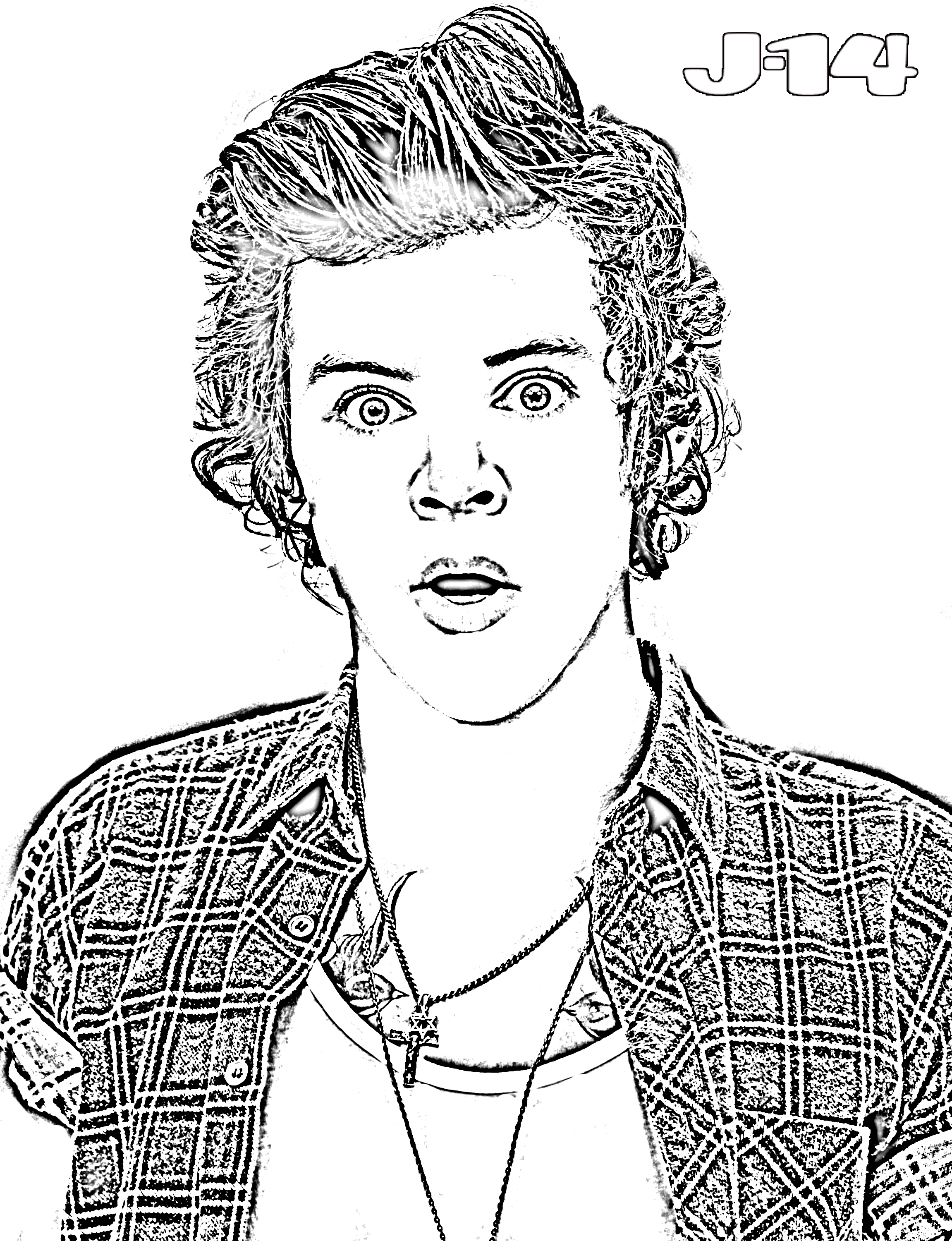 Free coloring sheets justin bieber - Justin Bieber Coloring Pages
