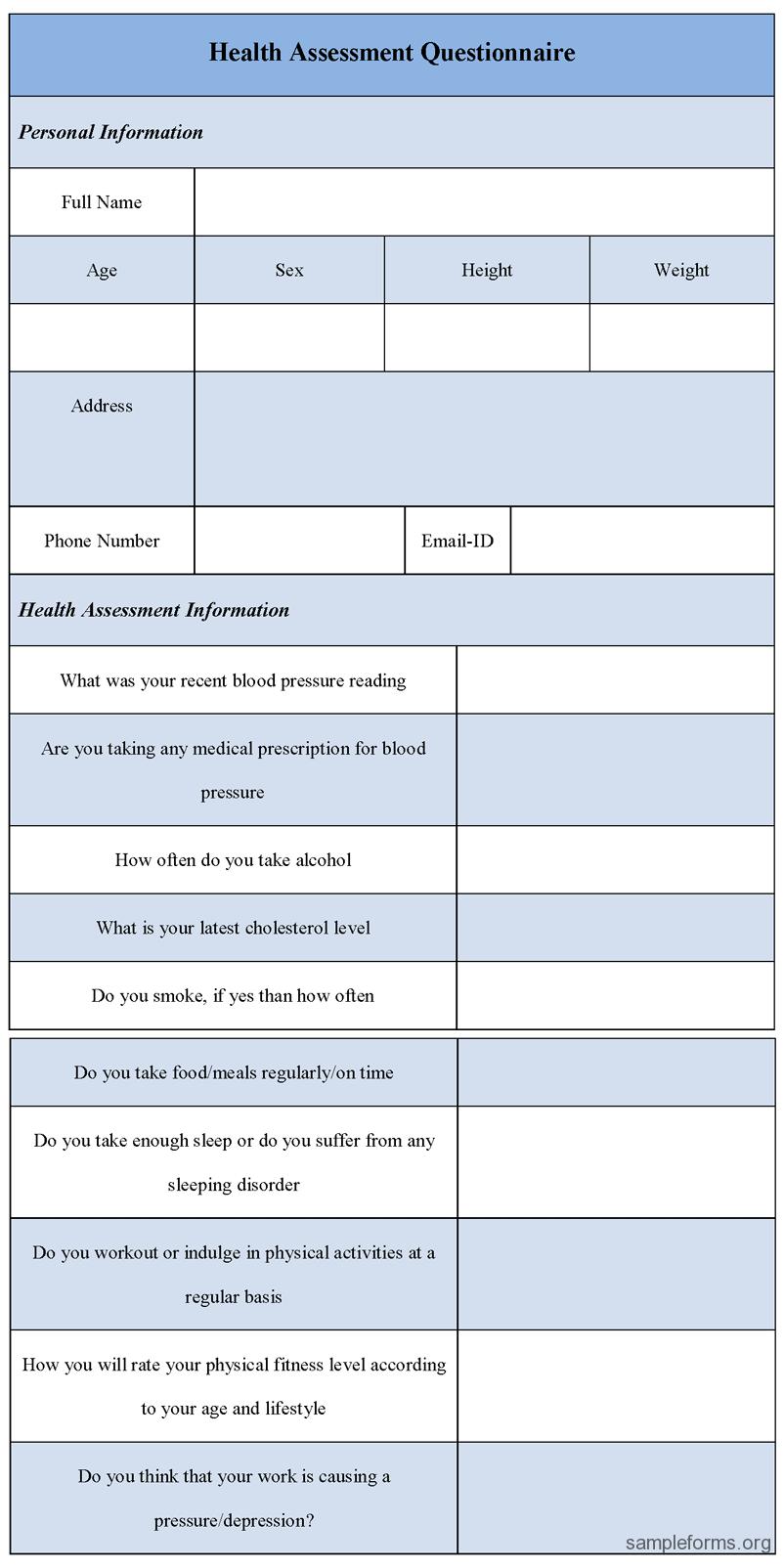mental health assessment