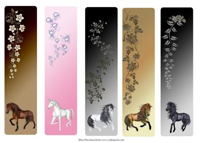 5 Best Images Of Free Printable Unicorn Bookmarks Cute