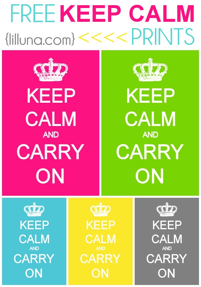 6 Images of Free Printable Keep Calm Read
