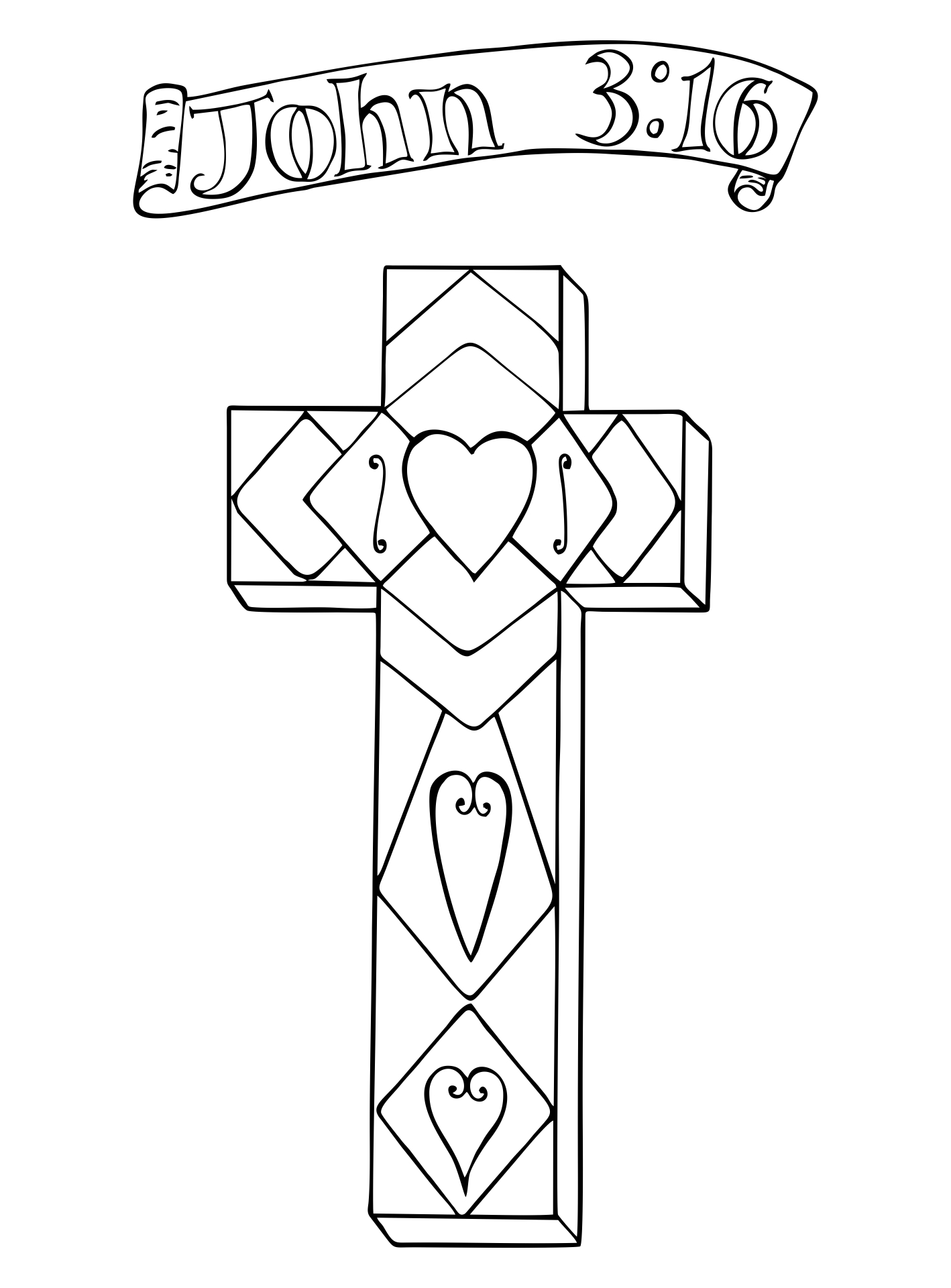 5 best images of christian christmas printable activities for Religious christmas coloring pages printable