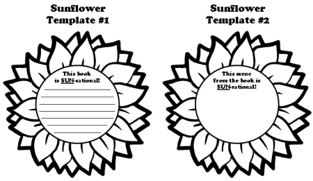 Printable Flower Writing Template