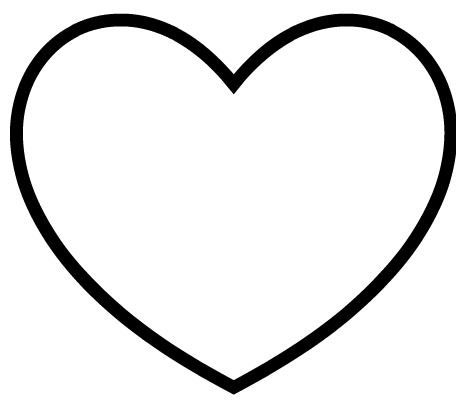 8 Images of Easy Printable Heart Stencils
