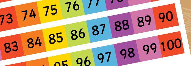 8 Best Images of Printable Rainbow Number 1 - Rainbow Number ...