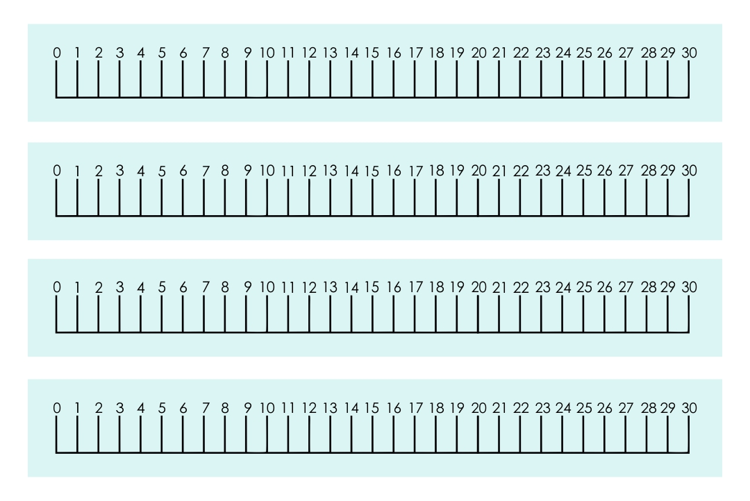 It's just a photo of Rare Printable Number Line 1 20