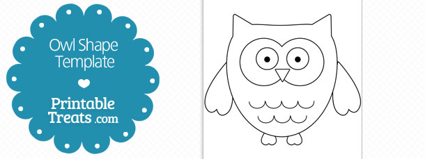 4 Images of Printable Owl Template