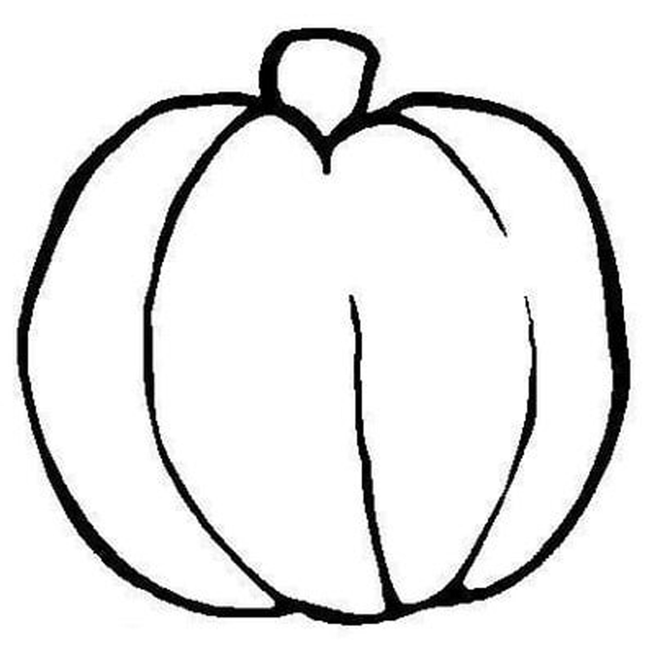 4 Images of Fall Pumpkin Coloring Pages Printable