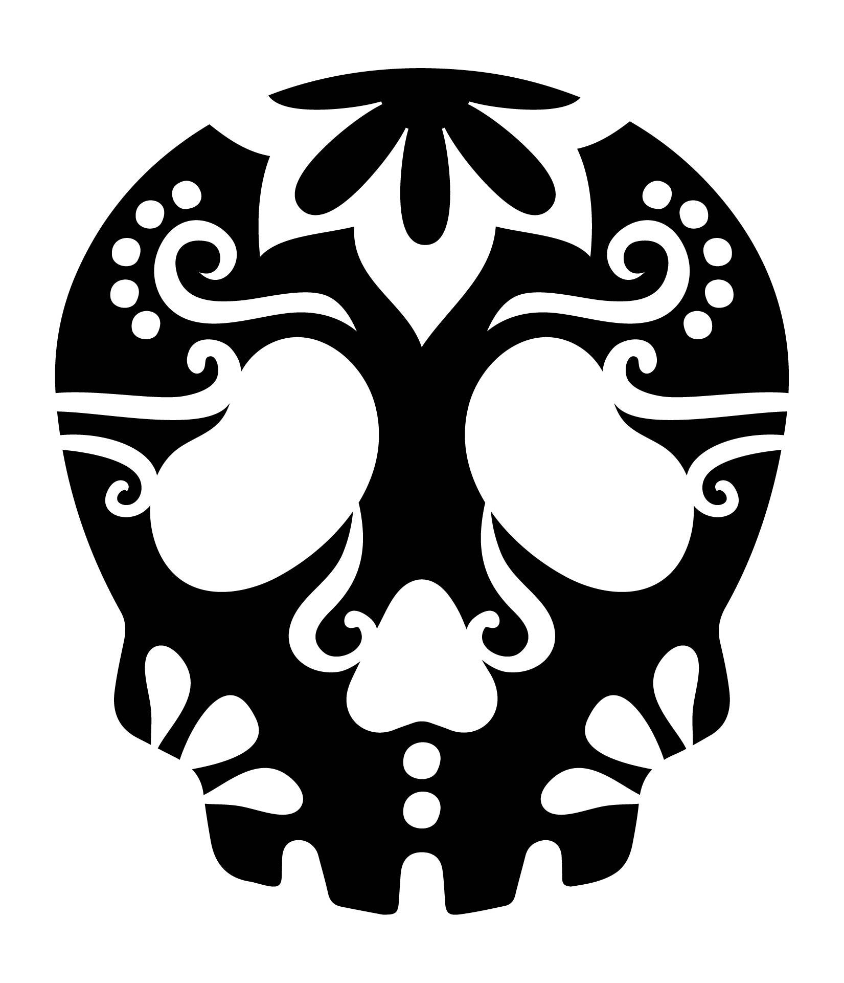 4 Images of Skull Pumpkin Stencils Free Printable