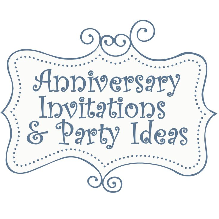 7 Images of Free Printable Anniversary Party Invitations Templates
