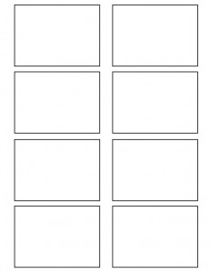 8 best images of printable blank vocabulary cards for Flashcard template for word