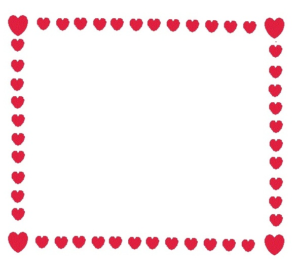 4 Images of Free Printable Heart Borders