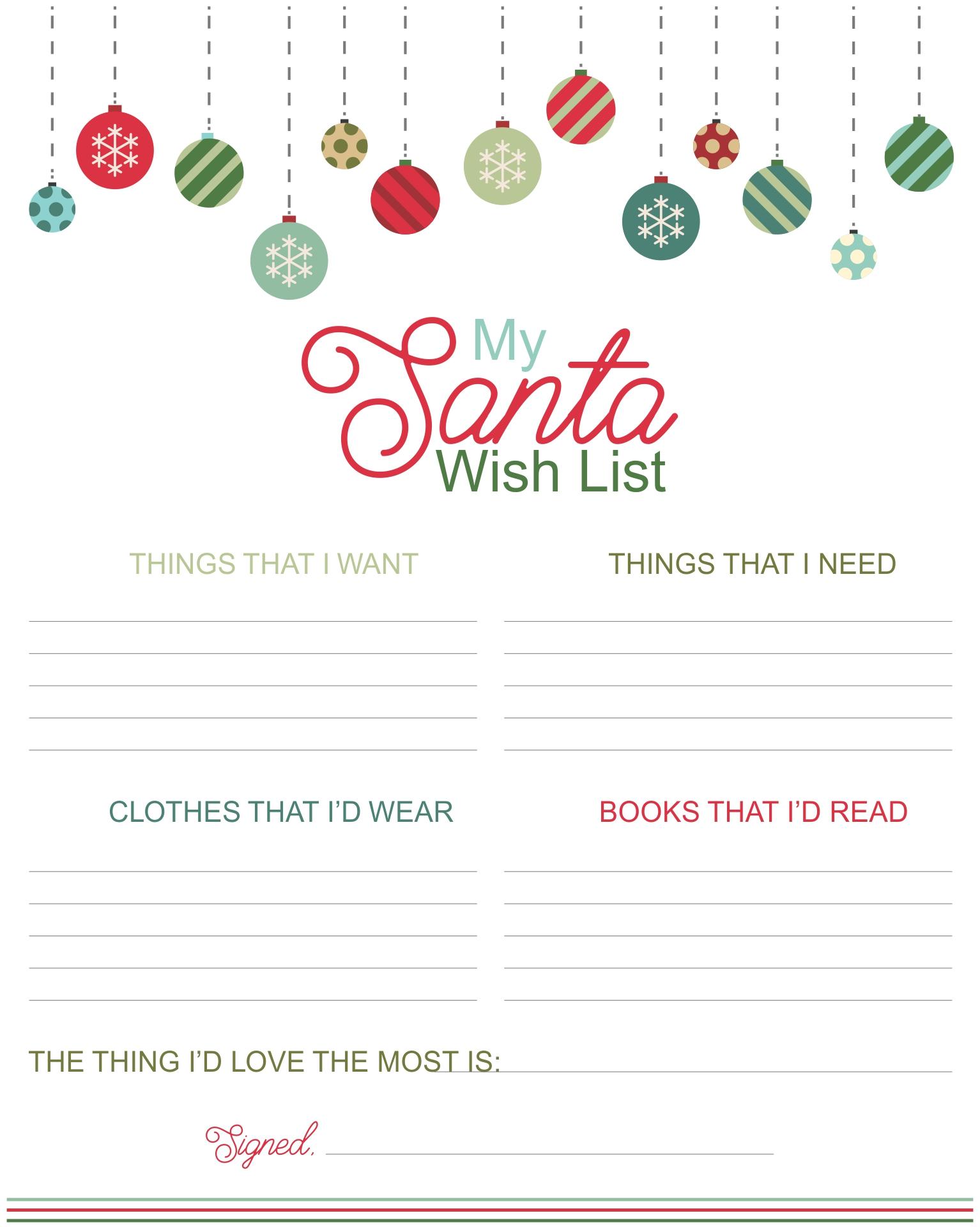christmas to do list template – Christmas List Format
