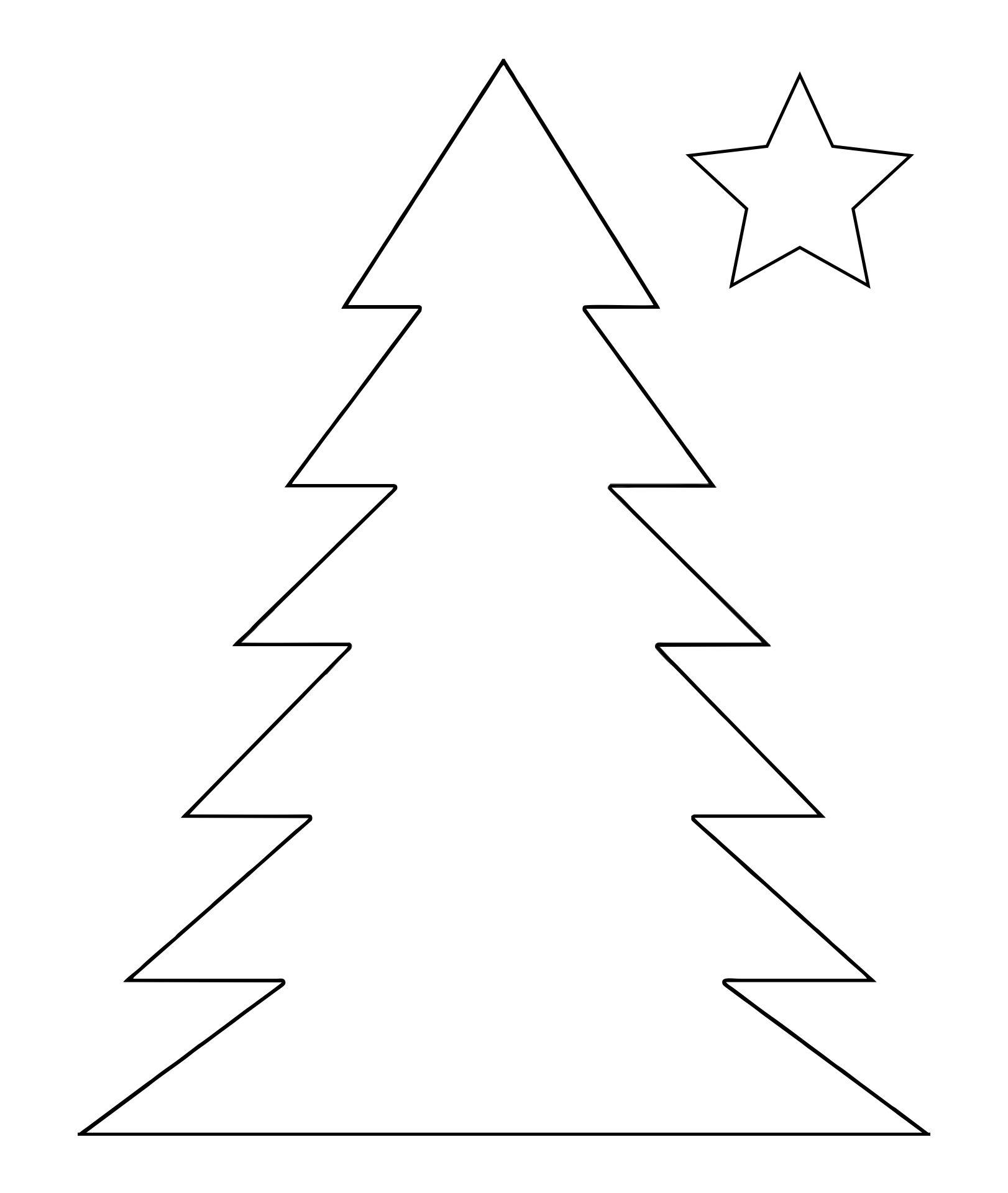 Christmas Tree String Art Pattern