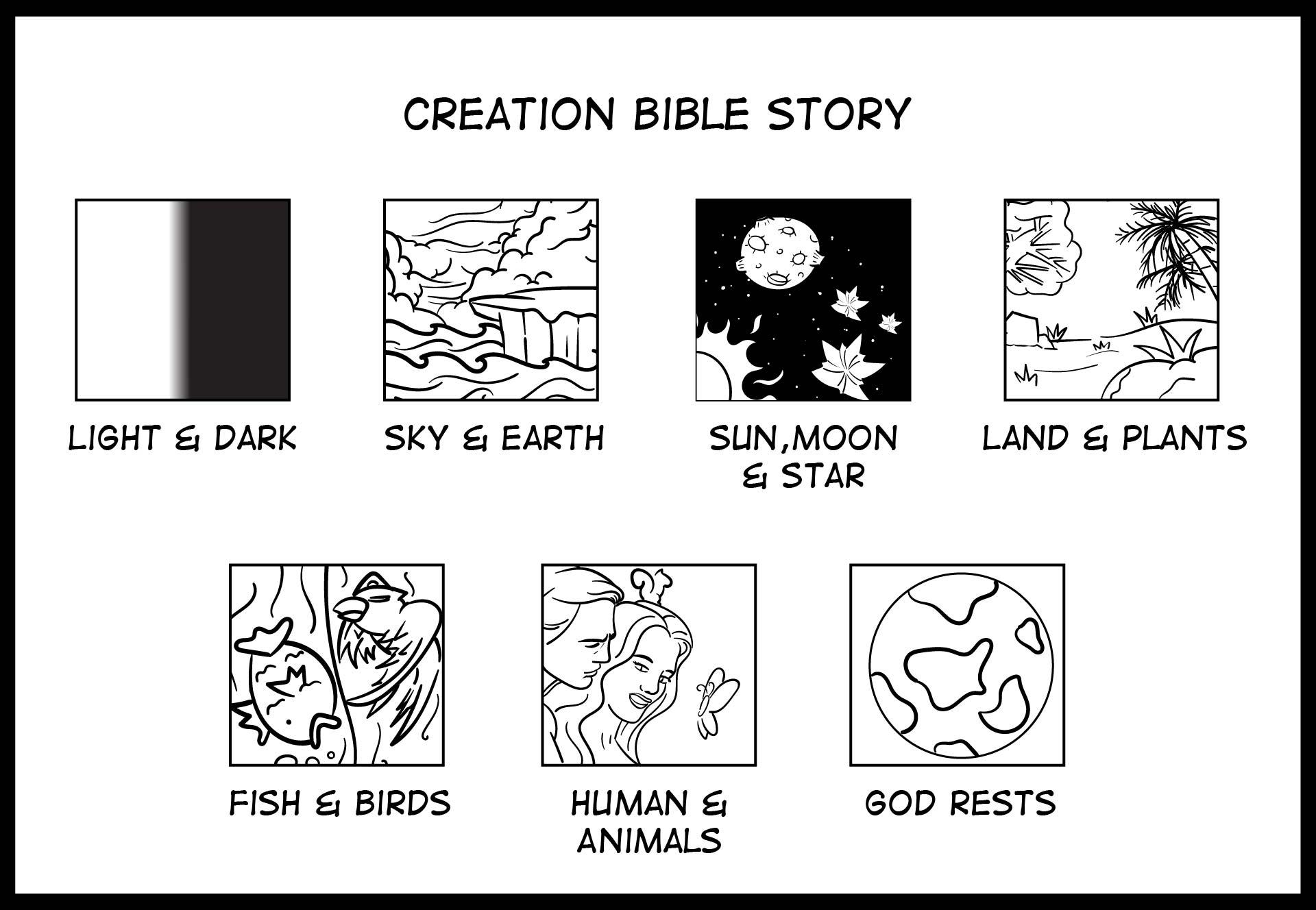 5 Images of Creation Worksheet Preschool Printable