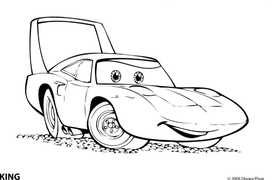 cars coloring sheets fast printable