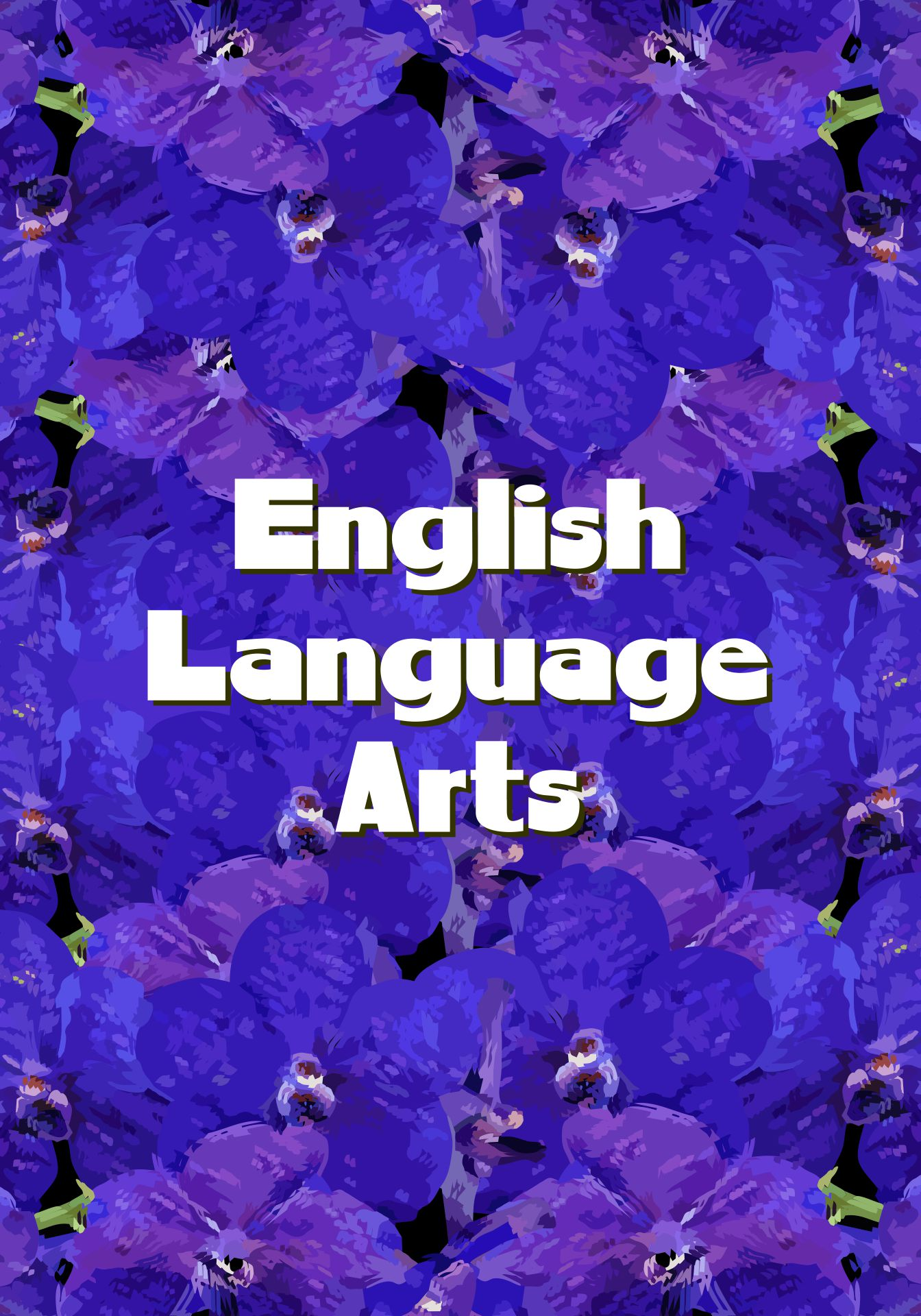 English Language Arts Binder Cover