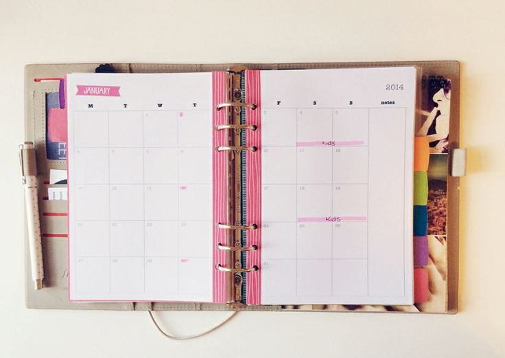 4 Images of Free 2015 A5 Monthly Calendar Printable