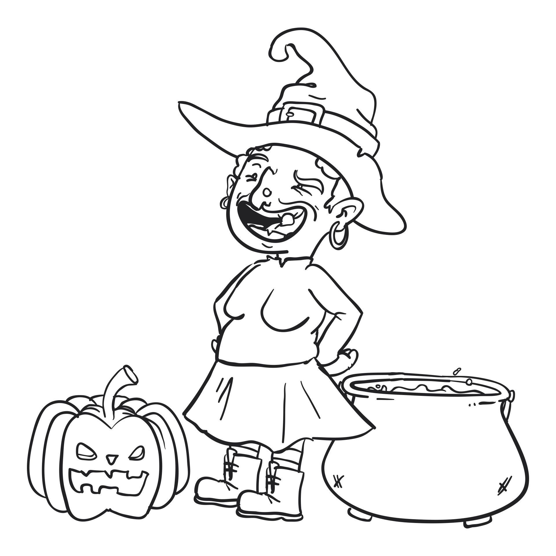 Free Halloween Printable Worksheets For Kindergarten