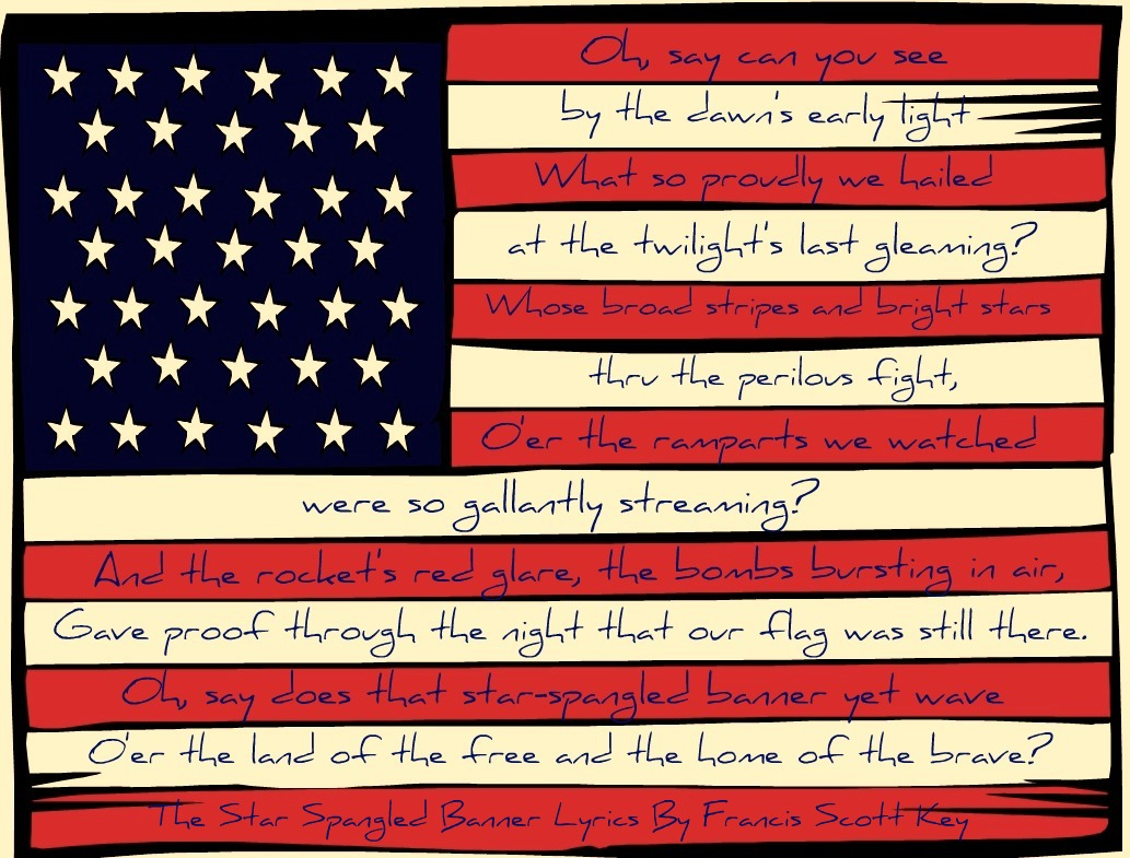 4 Images of Free Printable American Flag