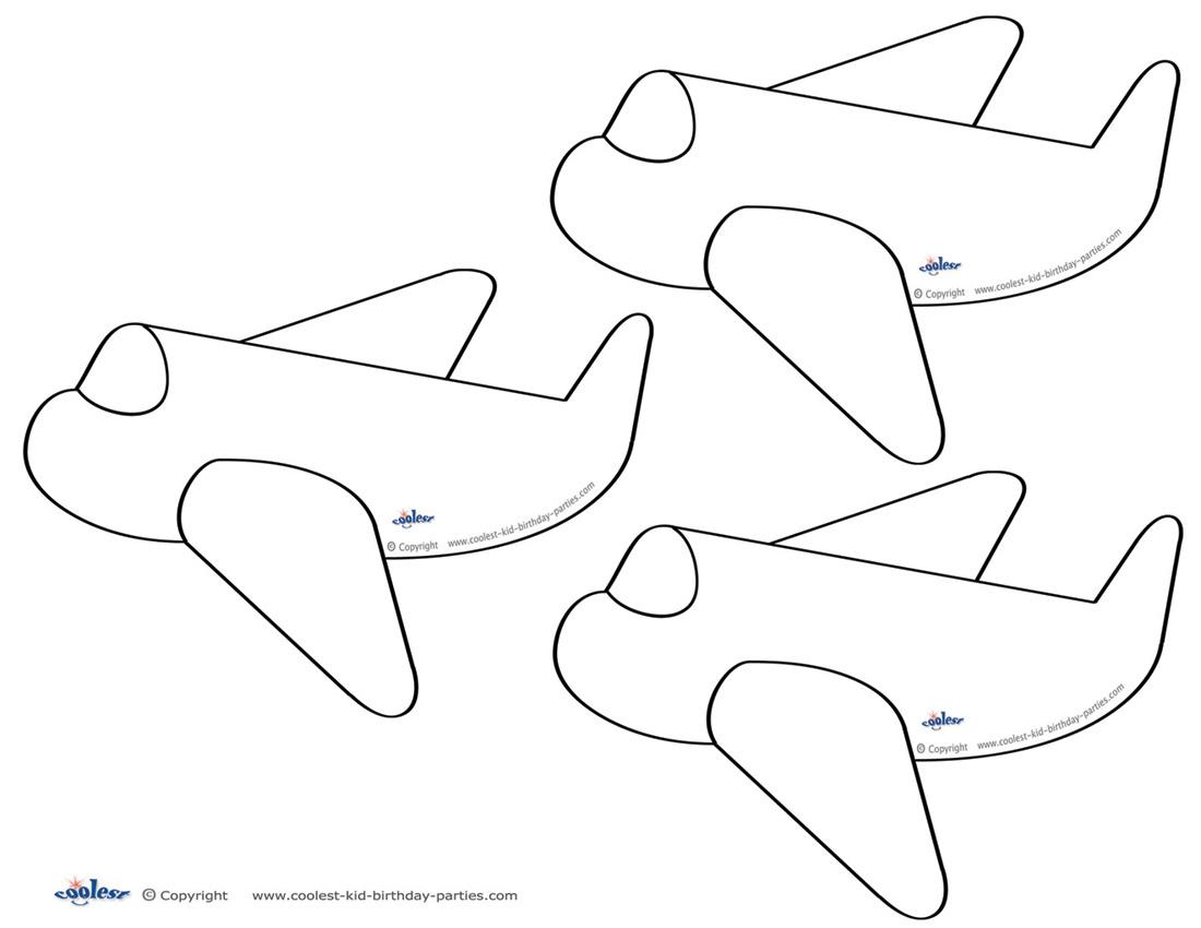 6 Images of Airplane Free Printable Bingo Cards