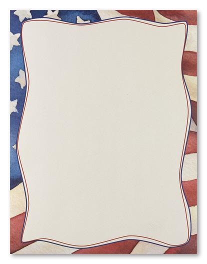 7 Best Images of Free Printable Patriotic Stationary
