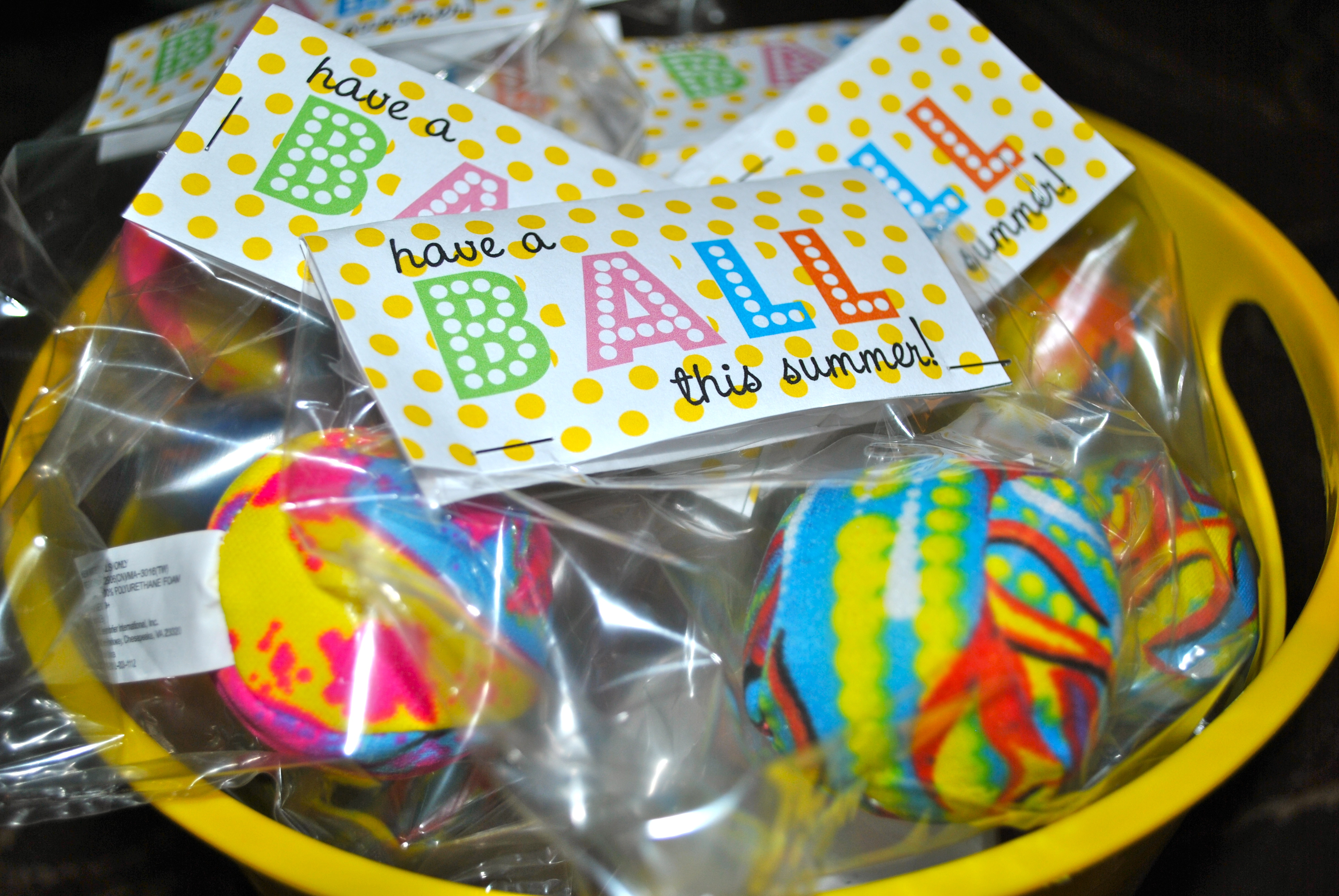 6 Images of Have A Ball This Summer Printable