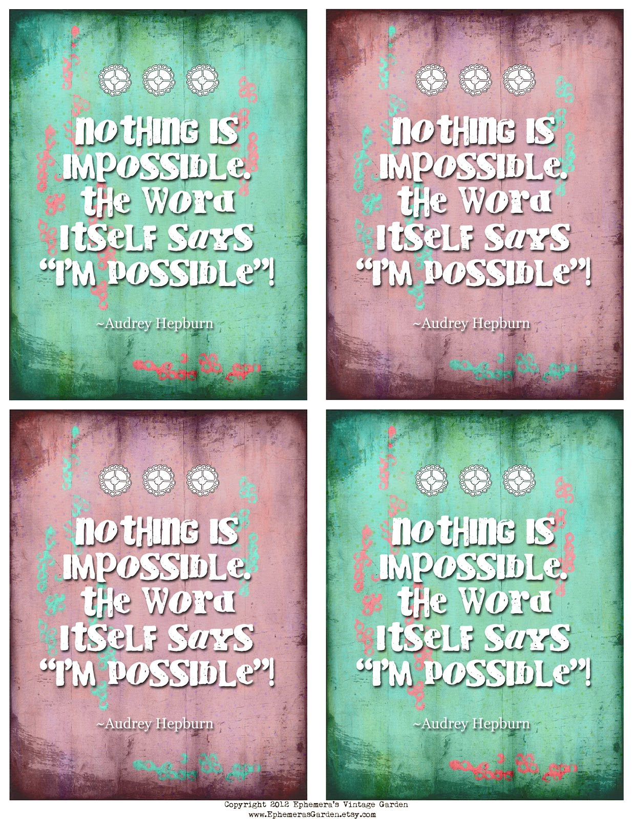 5 best images of printable inspirational cards free