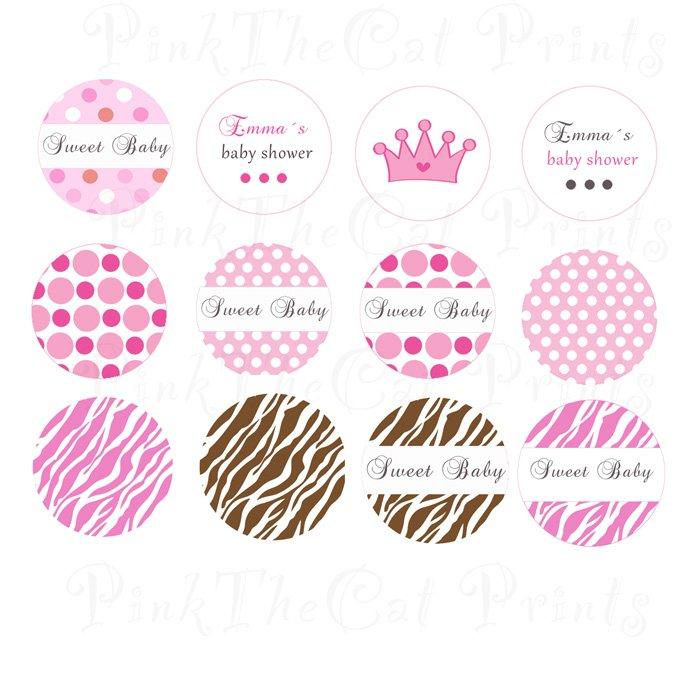 Free Printable Princess Stickers