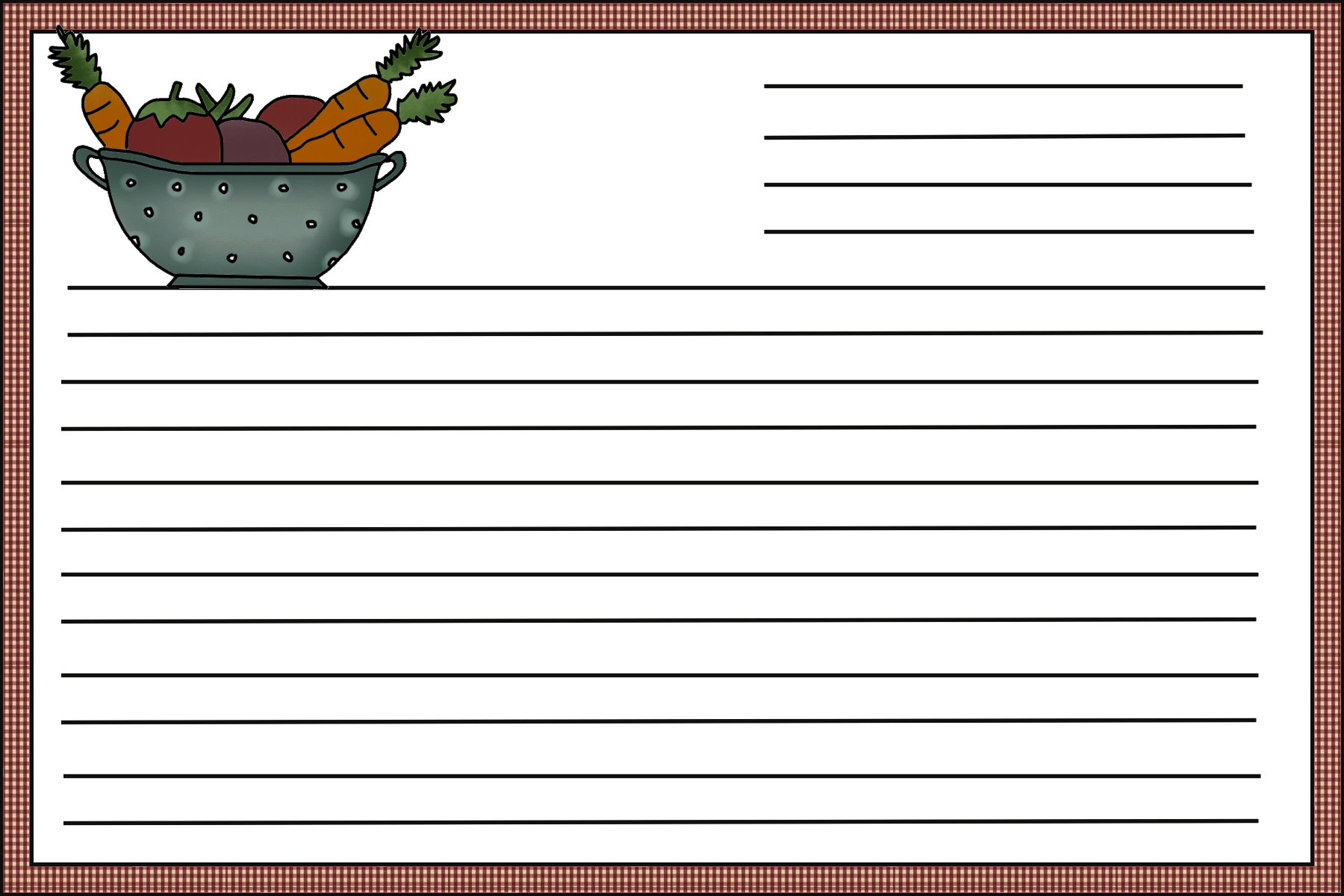 8 Best Images of Free Printable Recipe Templates Online ...
