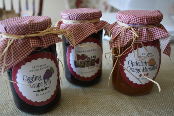 8 best images of homemade jam jar labels free printables for Jelly jar label template