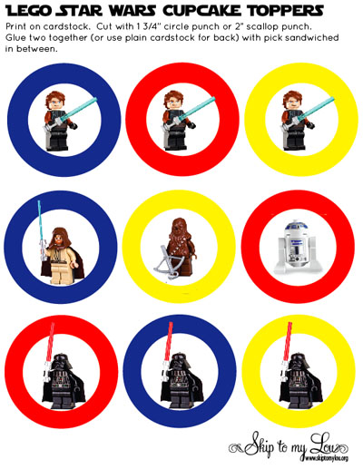 7 Images of LEGO Star Wars Free Printables