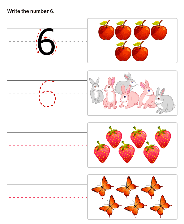 Number Names Worksheets free printable pre k math worksheets – Math Pre K Worksheets