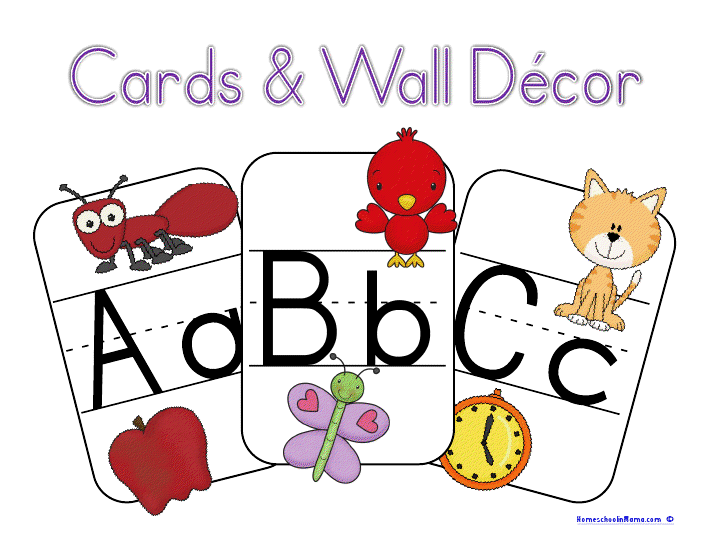 6 Images of ABC Cards Printable For Preschool