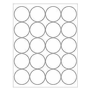 Printable Circle Label Template