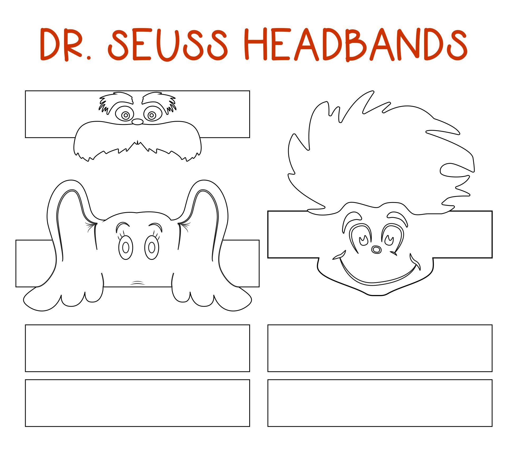 Printable Dr. Seuss Cutting