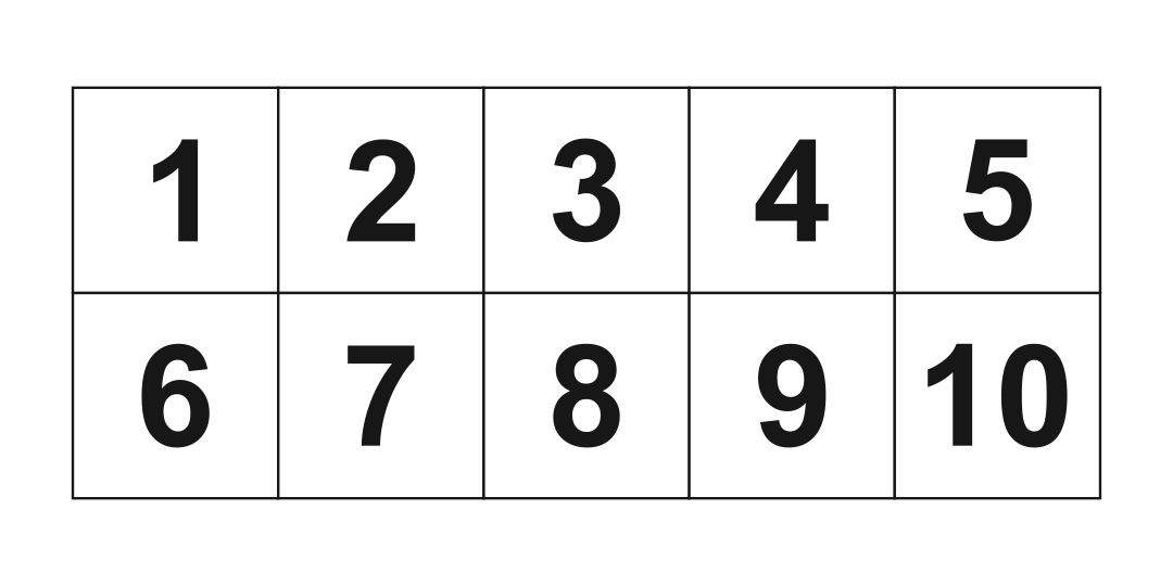 9 Best Images of Printable Block Numbers 1 10 - Free ...